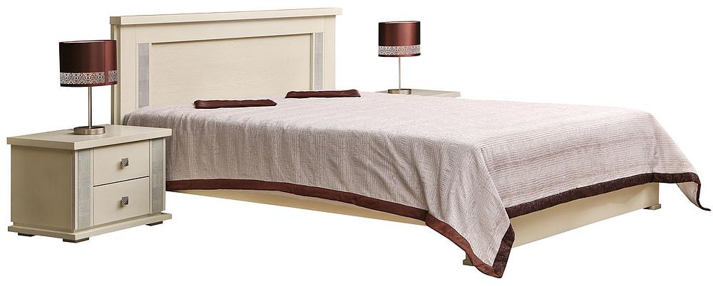 Краснодар Валенсия Gallery: Кровать двойная «Тунис» П344.05 купить в интернет-магазине